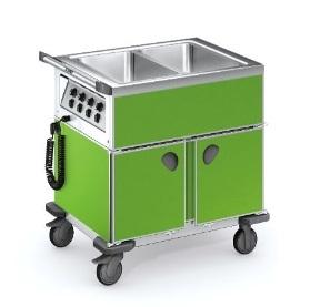 Blanco SAG | beheizte Speisenausgabewagen