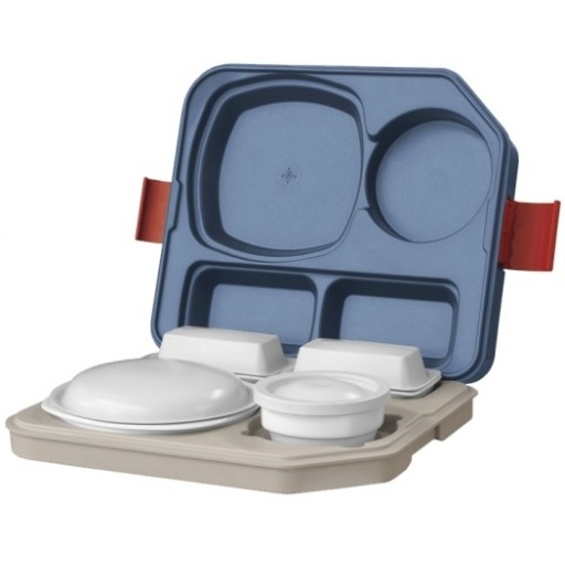 blu-tray Speisentransportbehälter Einzelspeisenverteilung