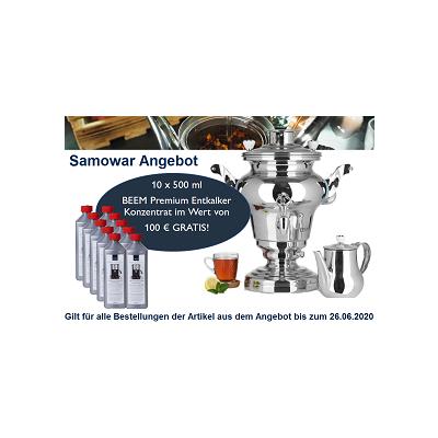 BEEM SAMOWAR-ANGEBOT MAI/JUNI 2020
