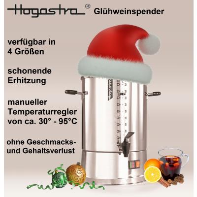 Hogastra Glühwein- und Heißwasserspender