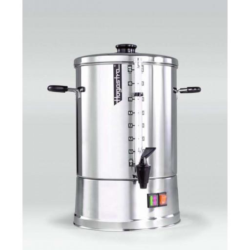 Hogastra Heißwasserautomat HWT 15 ECO Line mit flachem Deckel, 2 - 15 Liter