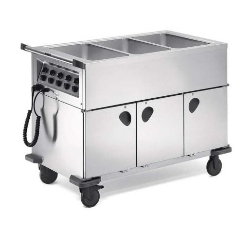 Blanco Speisenausgabewagen SAG 3 beheizt 3xGN 1/1-200