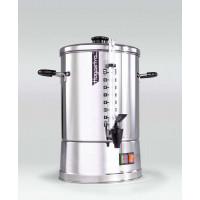 Hogastra Heißwasserautomat HWT/GWT Glühweinspender  10 ECO Line mit flachem Deckel, 2 - 10 Liter