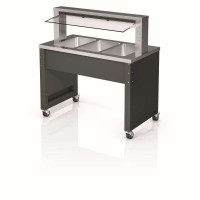 BASIC LINE Smart W-3 Warmbuffet 3 x GN 1/1