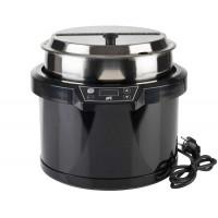 APS Elektrischer Suppentopf schwarz, ohne Wasserbad, 60-80°C
