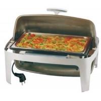 "APS Elektro Rolltop-Chafing Dish ""ELITE"" GN 1/1 100 mm  14 Liter"