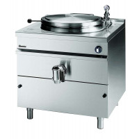 Bartscher Elektro-Kochkessel, indirekte Beheizung, Nutzinhalt 317 Liter