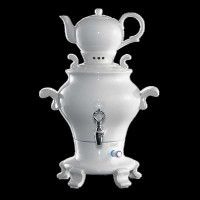 Beem Porzellan Samowar Odette Blanc - 5 Liter