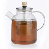 Beem Teekanne | Glaskanne mit Teesieb 1,5 Liter