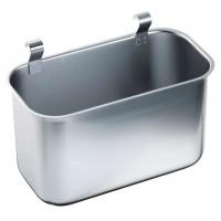 Blanco Abfallbehälter zum Einhängen an Servier-/Abräumwagen