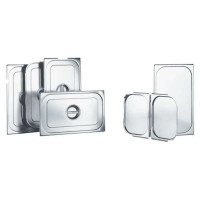 Blanco GN-Deckel 1/6 für Gastronorm Behälter | GD 1/6