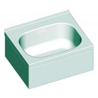 Blanco W 4 x 3,2 x 1,5 Handwaschbecken mit 3-seitiger Beckenverkleidung