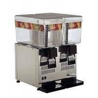 Dynamic Santos Dispenser für gekühlte Getränke mit zwei Behältern