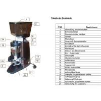 Dynamic «Silence» Espresso Kaffeemühle