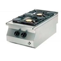 MKN Kocher Gas 2-flammig Serie Counter SL