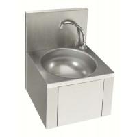 Neumärker Handwaschbecken mit Kniebedienung Rundes Waschbecken