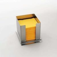 Stöckel Serviettenbox aus Edelstahl verschiedene Größen