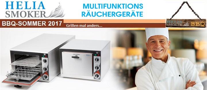 Multifunktions-Räuchergeräte Helia Smoker