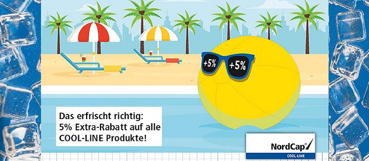 Sommeraktion 2017 5% auf COOL-LINE Produkte