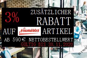 Neumärker 3% Zusatzrabatt ab 590€ Nettobestellwert