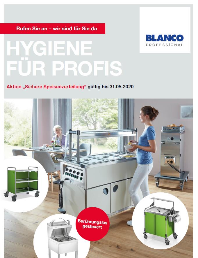 Blanco Hygiene Speziel Mai 2020