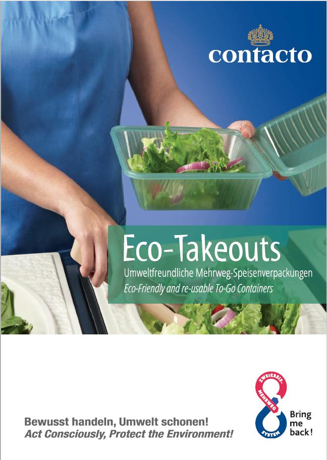 Eco Takeouts® Mehrweg- Verpackungen