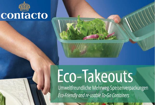 Contacto Eco-Takeouts Mehrweggeschirr