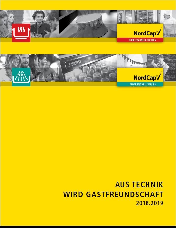 Nordcap Katalog Spül- und Kochtechnik