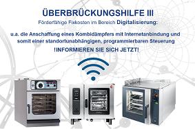 Kombidämpfer Überbrückungshilfe III Förderung Digitalisierung