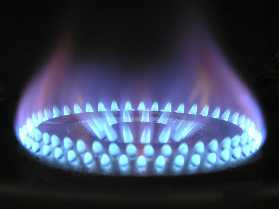 Gasflamme Gastronomie Gasherd