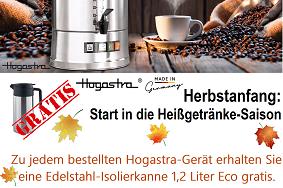 Hogastra Der zuverlässige Profi für die Kaffeeversorgung von großen Gruppen