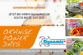 Dynamic Sommeraktion Lecker, frischer Salat ...