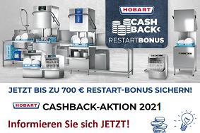 Hobart Cashback Aktion